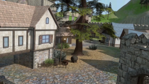 Explore Paul's medieval village