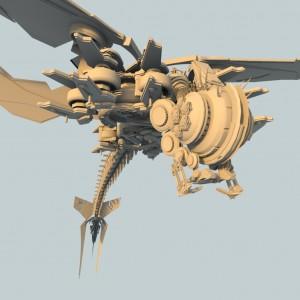 dragon fly render 5
