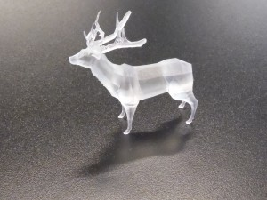 Early 3D print of Jordan's stag